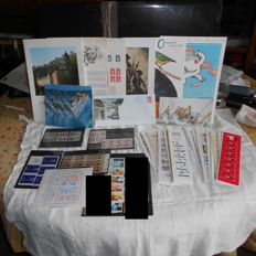 France 1961/2003 – lot of Books, blocks, Ready to post, documents from the historical collection of French postal stamps
