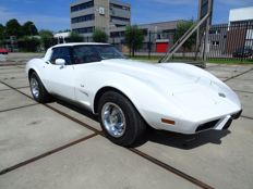 Chevrolet - Corvette 25 year anniversary edition C3 350CI V8 Targa T-top - 1978
