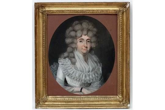English school (18/19th century) - Portrait of a lady of nobility