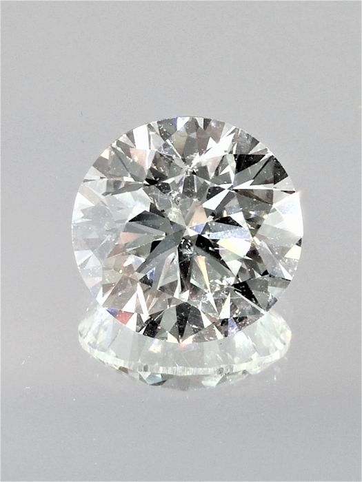 Round Brilliant Cut  - 1.65 carat - D color -  VS1 clarity - Natural Loose Diamond - Comes With IGL Certificate + Laser Inscription On Girdle