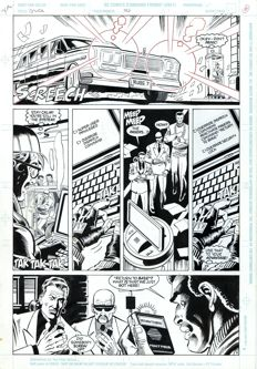 Original Art Page By Rod Whigham - DC Comics - Justice League Quarterly #10 - Page 6 - (1993)