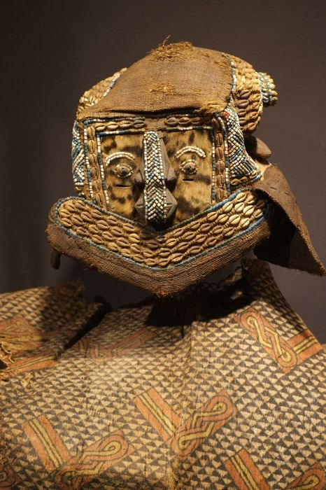Mwashamboy Kuba complete costume, Democratic Republic of the Congo