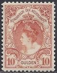 Regardez The Netherlands 1905 - Queen Wilhelmina type 'Fur collar' - NVPH 80