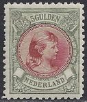 Regardez The Netherlands 1896 – Princess Wilhelmina 'Fur collar' – NVPH 48