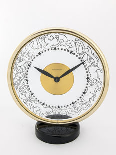 Jaeger-LeCoultre Zodiac signs table clock with 8-day clockwork  – Zodiac – 1940s