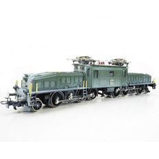 "Märklin H0 - 3359 - Electric locomotive Series Be 6/8 III ""Swiss Krokodil - Crocodile"" of the SBB, snow covered"