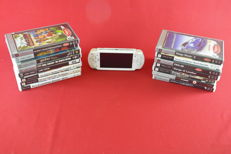 Sony Playstation Portable (PSP) with 15 games/UMD. VIdeo