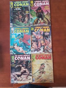 Collection Of Marvel Comics - The Savage Sword Of Conan The Barbarian / Conan Saga + More - x72 SC - (1975/1995)