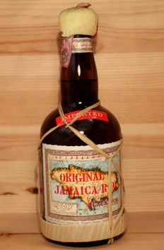 "Original Jamaica Rum Black Joe ""3/4 da litri"", 750ml/75cl, 40%vol. Old Bottling - 1970s"