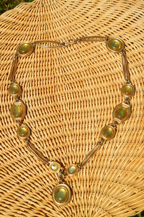 Yves Saint Laurent - Superb vintage necklace - Very rare.