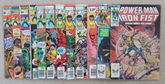 Collection Of Marvel Comics – Power Man And Iron Fist – x12 SC – (1974/1983)