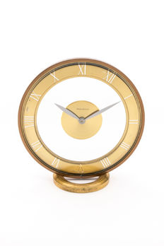 Jaeger-LeCoultre table clock with eight-day movement – 1960s