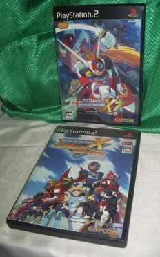 Rockman X7 (NTSC-J) + RockMan X Command Mission (NTSC-J) for Sony Playstation 2