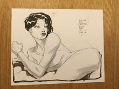 Vince (Roucher, Vincent) - original drawing - Pin-Up