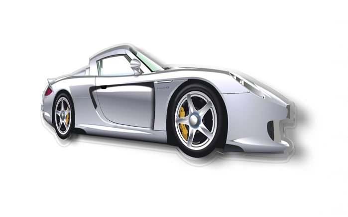 Halmo Collection Porsche Carrera GT plexiglass model