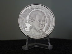 Palau 2017 5 dollars 2017 - 1 oz Wolfgang Amadeus Mozart coin - silver coin - new