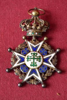 Order of master the Avis - Silver , Portugal early 19th century