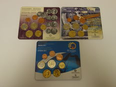 Greece – Year packs 2008, 2010 and 2011 (3 different ones)