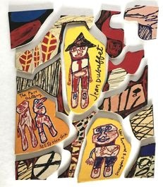 Jean Dubuffet - Partitions 1980-81 & Psycho-sites 1981 - 1982