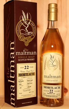 Mortlach 1990, aged 22 years, Vintage Single Cask, bottled 2012, The Maltman