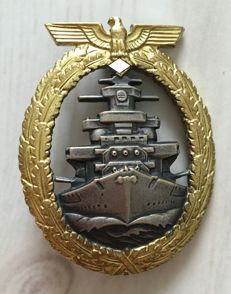 Navy War Badge 1941