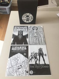 Collection Of Variant Black And White Variant Covers - From The Limited Edition Image Comics 25th Anniversary Blind Box - Including Original Blind Box x4 SC - (2017)