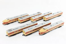 Kato N - 10-351 - 7-piece train 181 series TOKI of the JR