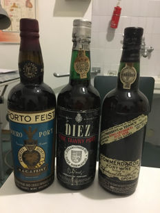 Feuerheerd Commendador & Diez Fine Tawny & Feist - 3 old Port Wines
