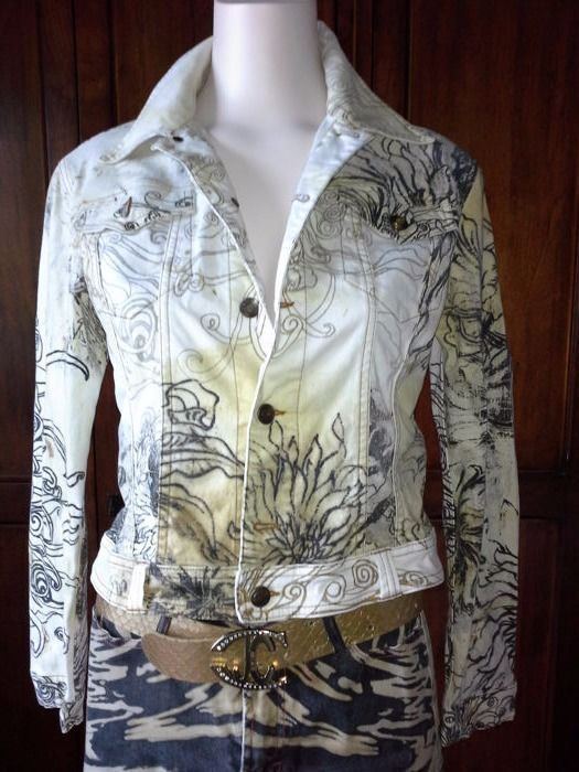 Just Cavalli by Roberto Cavalli – Jacket, trousers and belt.