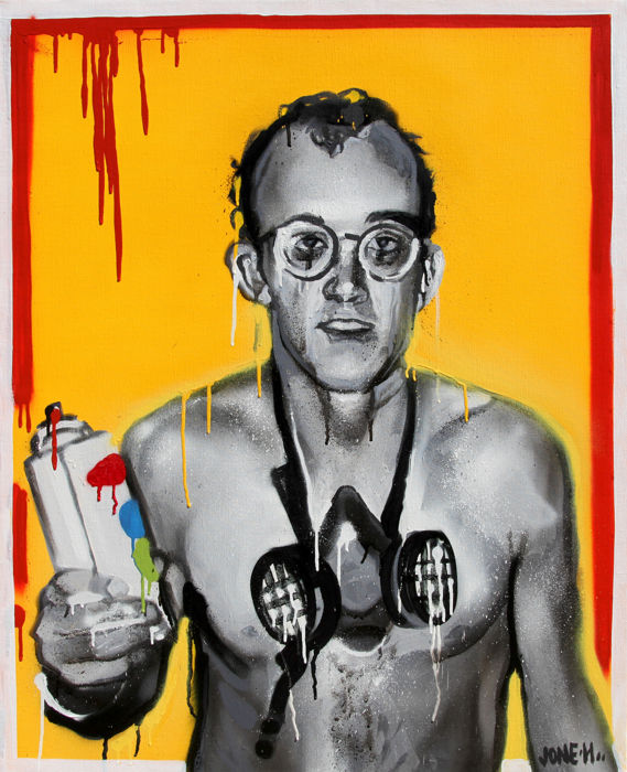Jone Hopper - Legends never die, Keith Haring