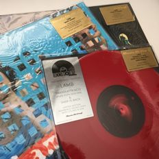 "Lamb, lot of 3 limited edition coloured vinyl LPs/10"": Transfatty Acid, What Sound, Fear Of Fours"