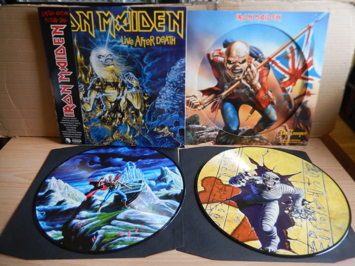 Iron Maiden Live After Death & The Trooper (Limited Edition Picture Discs)
