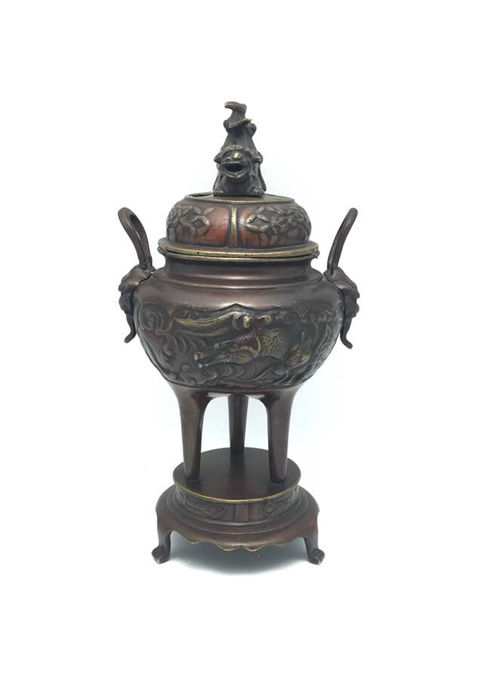 Bronze censer - first half of 20th century