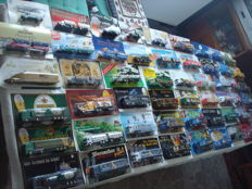 Collection - brewery trucks, advertising trucks, some vintage trucks and special editions, in original packaging, 83 parts - 1997/2006
