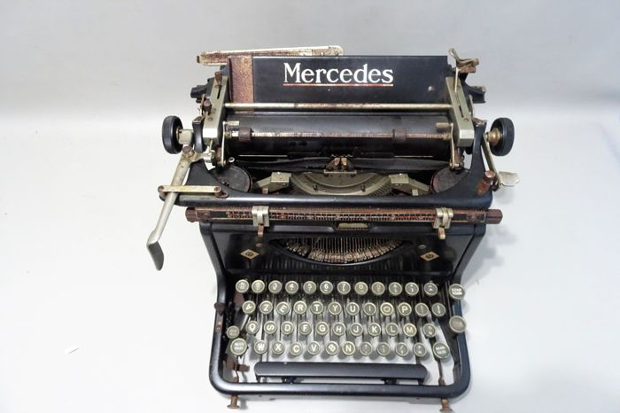 Mercedes - Antique typewriter - 1930s, Thuringia, Germany