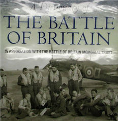 Signed; Geoff Simpson - A Dictionary of The Battle of Britain -2009