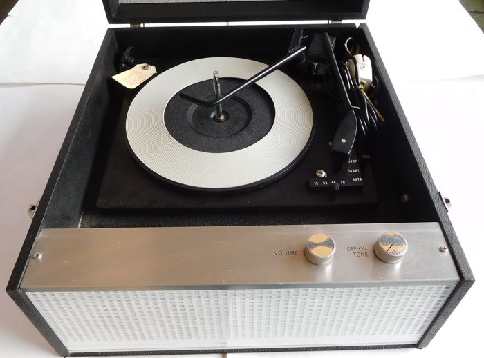 Dansette Model DRP10 Turntable / Gramophone player including Changer / 1960s - UK
