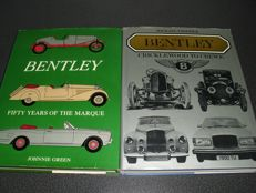 Lot of two Bentley books.
