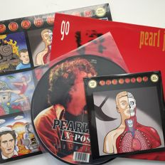 Pearl Jam, collection of four original records