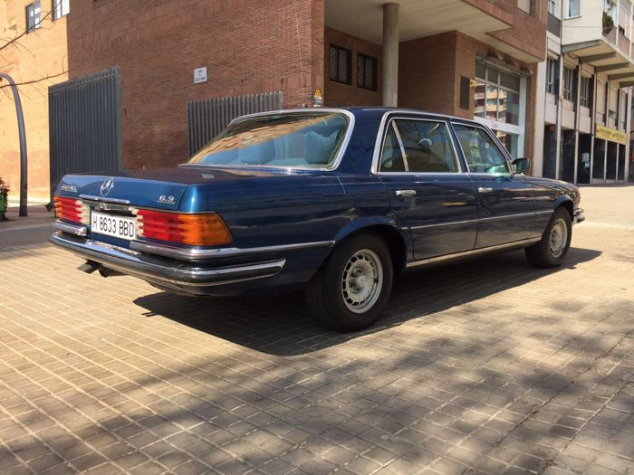 Mercedes benz 450 sel 6 9 armoured 1978 catawiki for Mercedes benz 450 sel 6 9