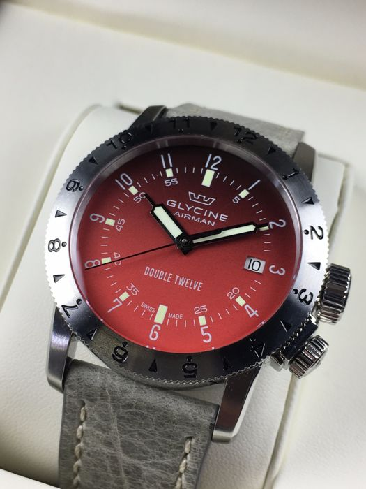 Glycine Airman Double Twelve Automatic Reference 3938 Men S Watch Catawiki