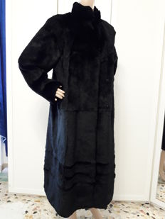 Rex rabbit fur coat Long women's coat / swinger No reserve price
