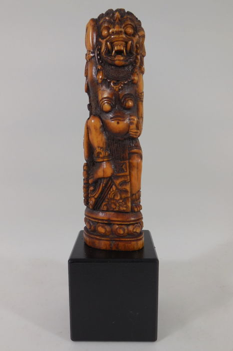 Raksasa, carving of bone – Bali – Indonesia – mid 20th century