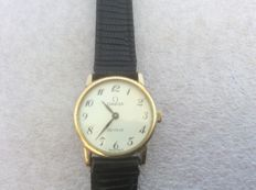 Omega de ville watch for women, mechanical with hand wind.