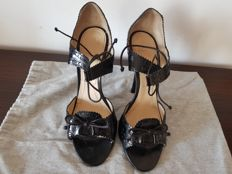 Givenchy - Heeled shoes with ankle laces