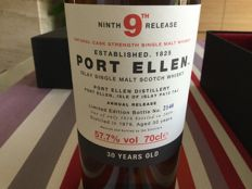Port Ellen  - 70 cl - 57.7 % only 5916 bottles
