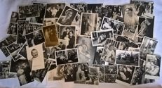 Large collection of more than 50 items!! Black and white photos (cards) of the Royal Family from the period before the Second World War - Rare- including original Court-Photographer photo cards