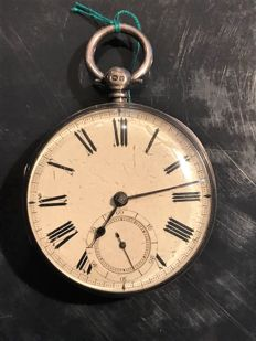 English made timepiece from an unknown manufacturer, very fine movement