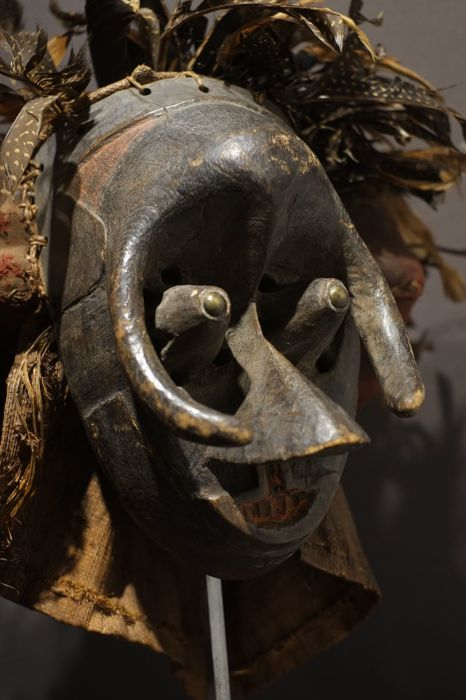 Horned Pwoom Itok mask - KUBA - Congo (RDC)