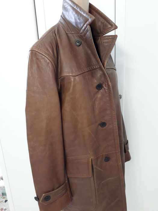 Hugo Boss - Model: Jasen - Men's leather jacket/coat